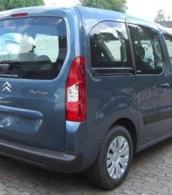 Peugeot Partner Rear Styling