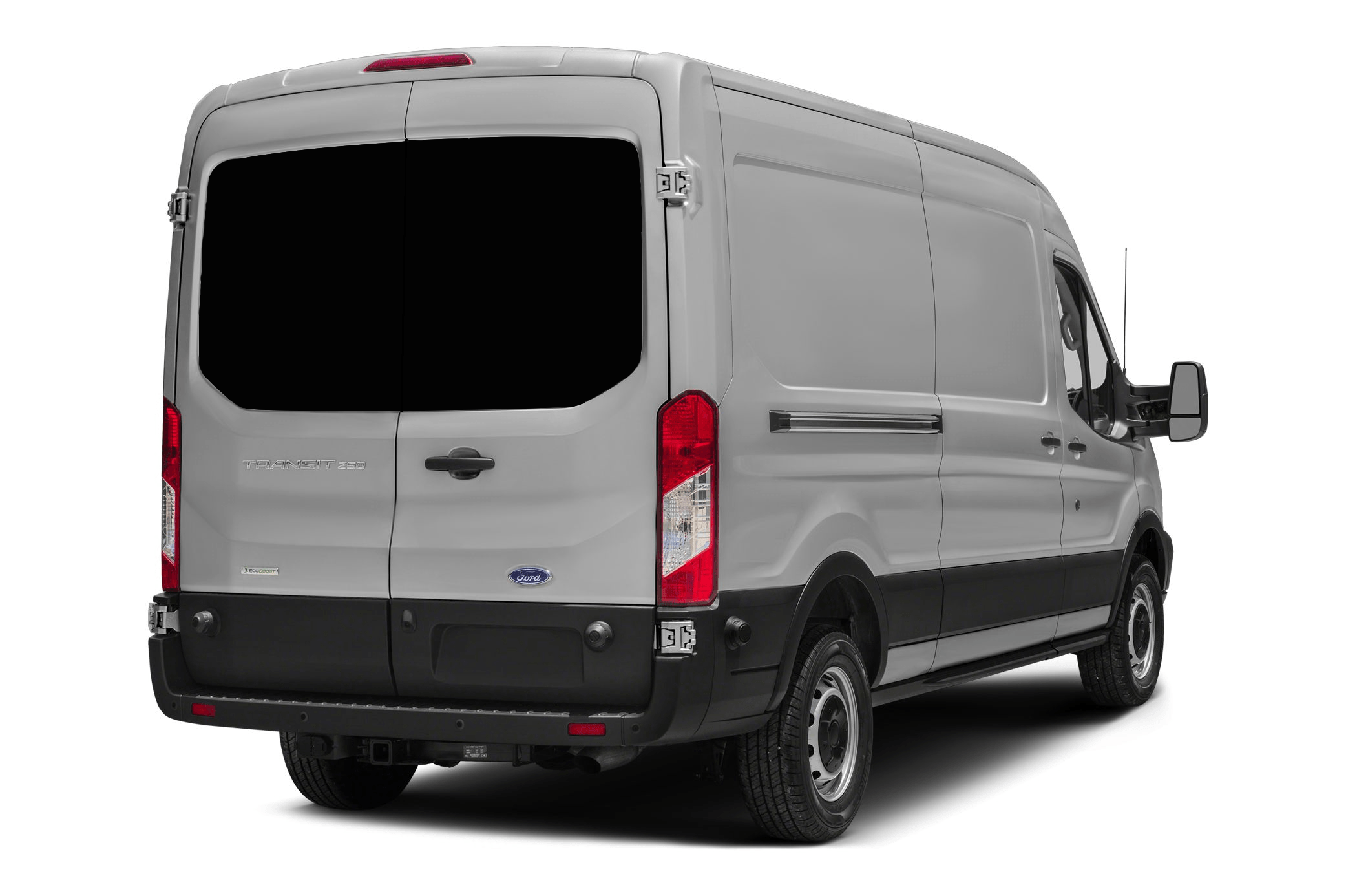 Ford Transit 2013 Gt Pair Of Back Door Windows In Privacy